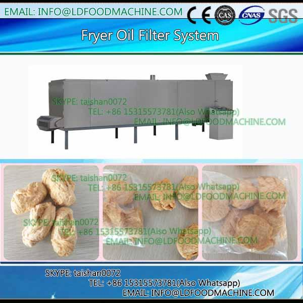 Snack frying machinery